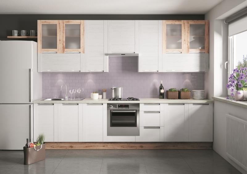 Aneks kuchenny jest idealnym rozwiązaniem, jeśli dysponujemy niewielką przestrzenią. Zabudowa jednorzędowa, jak w kuchni OLIVIA Soft, pozwoli zaoszczędzić miejsce, a przy tym atrakcyjnie wygląda. Fot. KAM