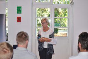 - W 2011 roku przeprowadziliśmy w Polsce pierwszy niemiecki egzamin zawodowy, wtedy było 14 absolwentów, w tym roku - 182 - mówiła Maria Montowska z Polsko-Niemieckiej Izby Przemysłowo-Handlowej. Fot. Forestor