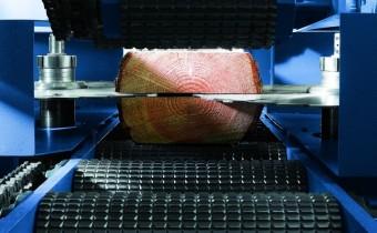 Pilarka taśmowa Primultinii doskonale sprawdza się w produkcji wysokiej jakości tarcicy meblowej. Fot. Primultini