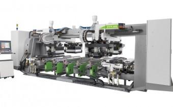 Centrum wiertarskie FTT R8 ma aż pięć ruchomych stołów roboczych, które są pozycjonowane w ciągu zaledwie kilku sekund. Fot. TEKNIKA
