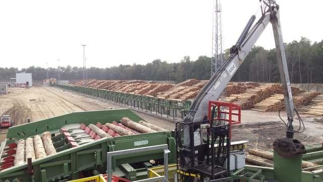 Nowa inwestycja pozwoli na zwiększenie produkcji do 800 m3 wyrobów drzewnych  rocznie. Fot. Stora Enso