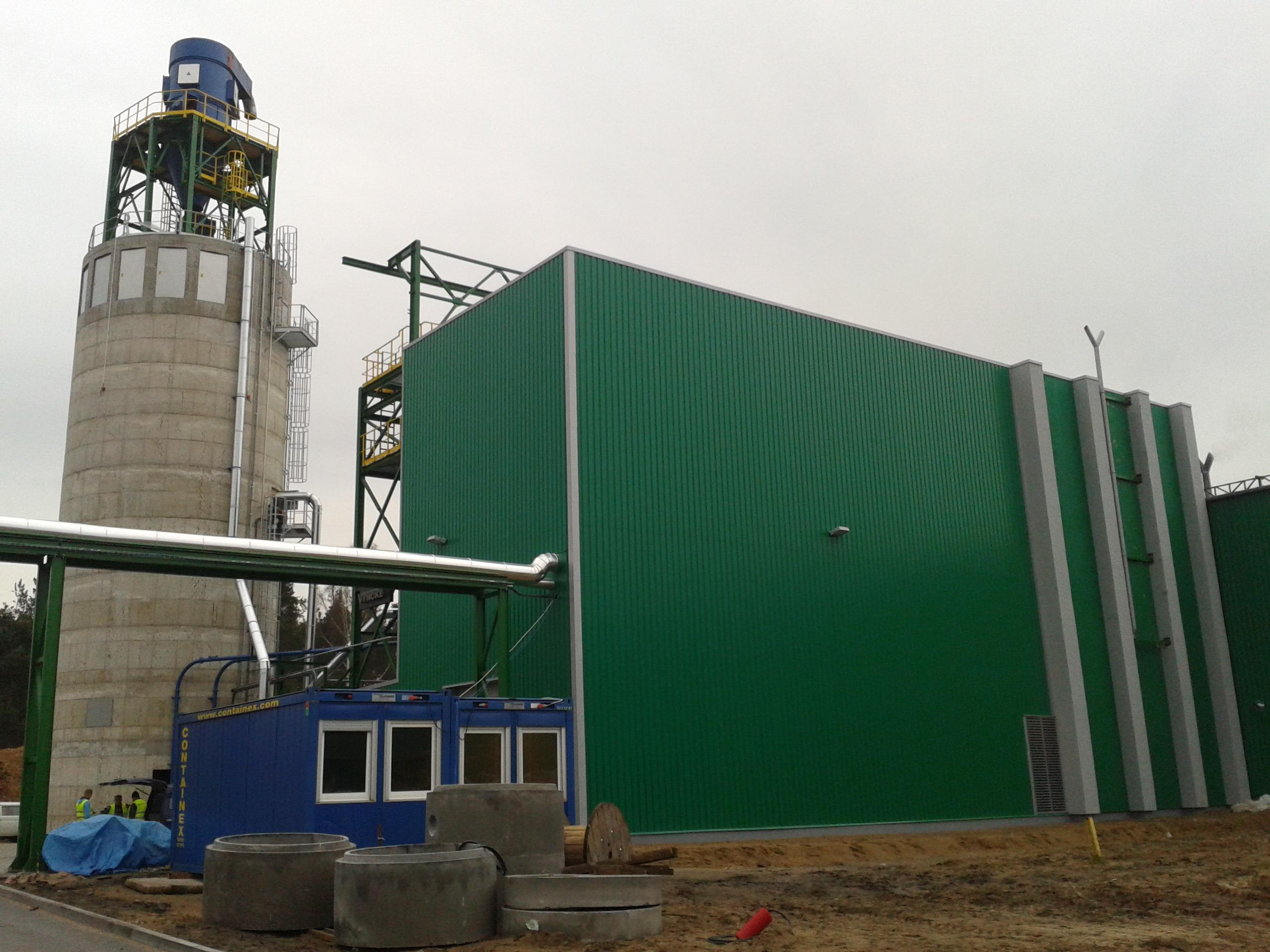 Koszt inwestycji kotłowni biomasowej wraz z całą infrastrukturą wyniósł 20 mln złotych, a została ona zrealizowana w ciągu 15 miesięcy. Fot. Steico