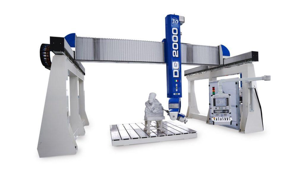 fot. 3 i 3a Największą z maszyn ze stajni Donatoni prezentowaną w Weronie będzie Quadrix DG2000, o ekstremalni wysokiej osi Z (2000 mm).