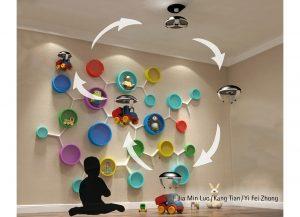 Drony służą pomocą najmłodszym. Od dzisiaj sprzątanie dziecięcej sypialni to świetna zabawa. Fot. Hettich/Rehau