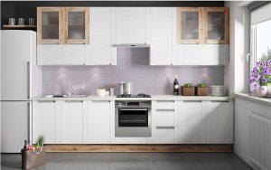 Zabudowa na jedną ścianę to wymóg niedużych mieszkań, w których kuchnia często ograniczona jest do aneksu. W takich wnętrzach najlepiej sprawdza się zabudowa w dwóch rzędach. W takim układzie, nawet pomimo ograniczonego metrażu, można ergonomicznie zaplanować wszystkie niezbędne strefy kuchenne. Fot. KAM