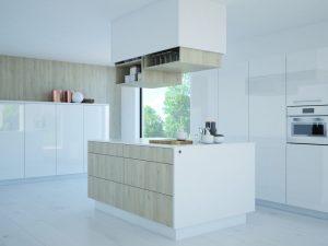 Dzięki LegaMove w kuchni można ?odkryć? jeszcze więcej miejsca do przechowywania, bo teraz będziemy mieli do niego komfortowy dostęp. Nic nie stoi na przeszkodzie do aktywowania nowych obszarów przestrzeni z komfortowym dostępem. Fot. Hettich