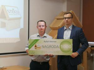 Rafał Werner, laureat III miejsca. Fot. Steico