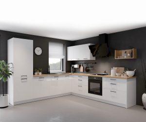 Otwarta kuchni wymaga dyscypliny aranżacyjnej i estetycznego dopasowania poszczególnych elementów, również sprzętów AGD. Powinny być w jednym stylu, a ich odcień można skomponować z kolorem baterii i uchwytami mebli.  Fot. KAM