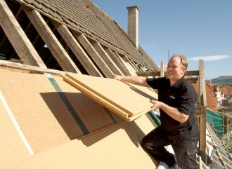 Renowacja dach-płyty STEICOspecial
